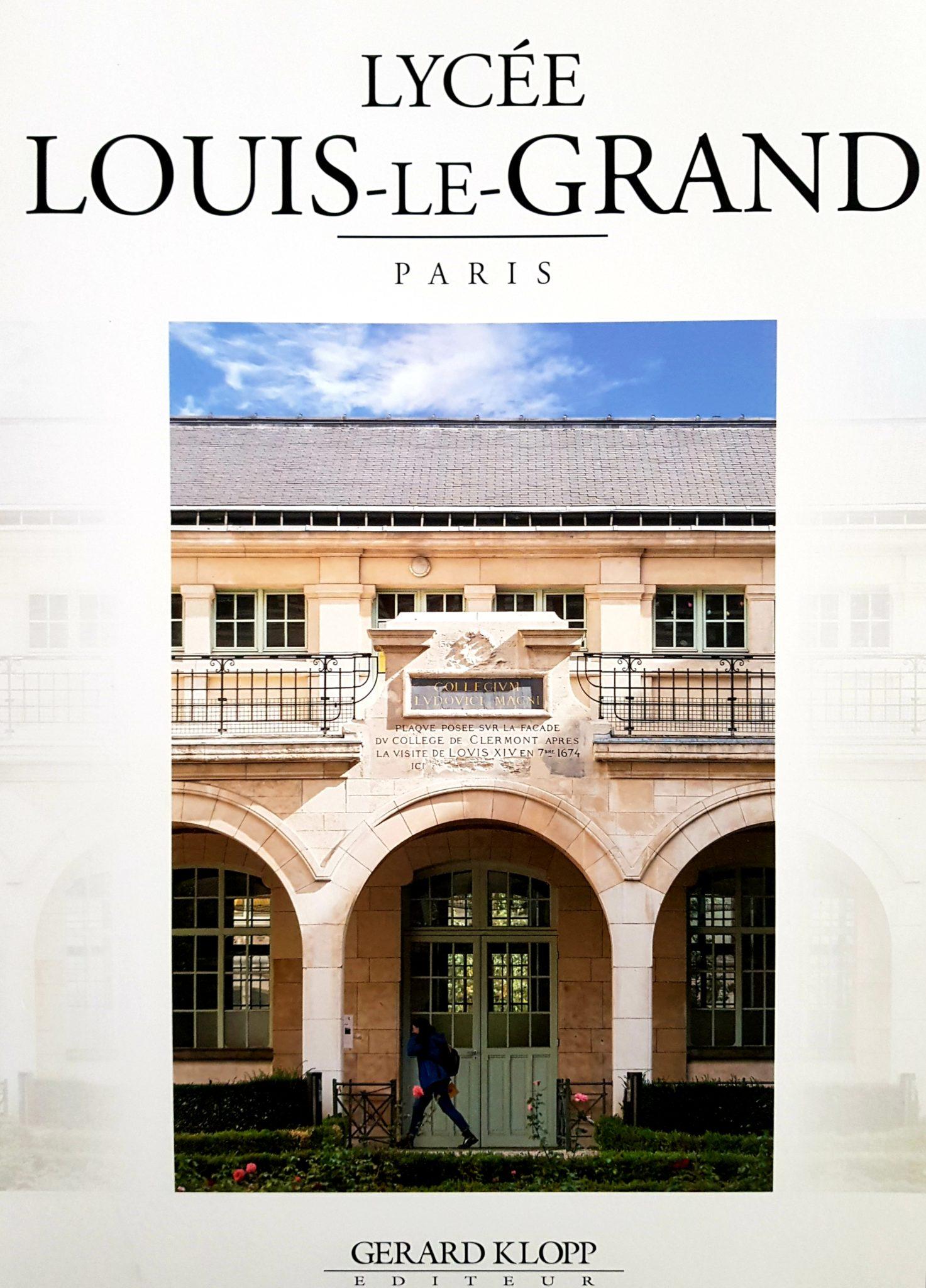 Livre Louis-le-Grand