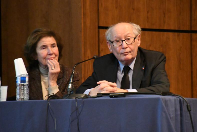 Conférence de Beate et Serge Klarsfeld